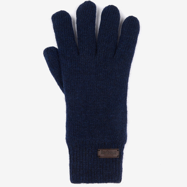 CARLTON WOOL BLEND NAVY GLOVES