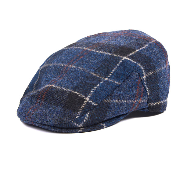 NAVY MOONS TWEED CAP
