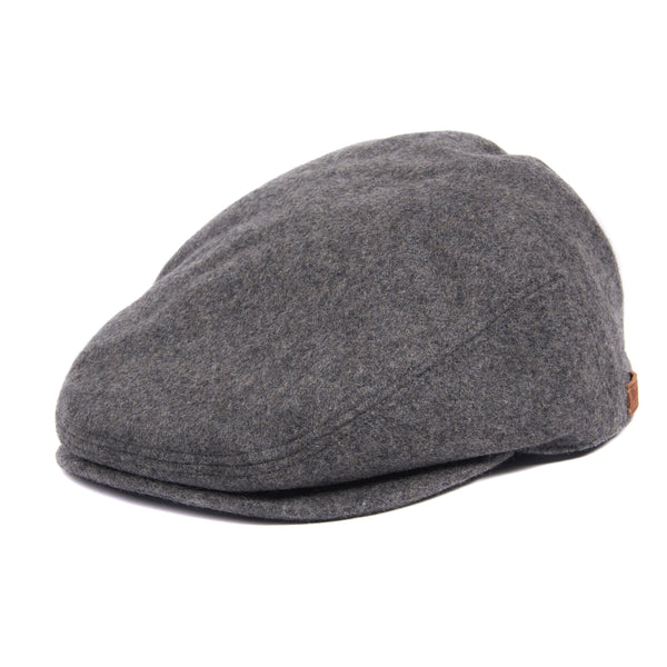 REDSHORE MELTON FLAT GREY CAP