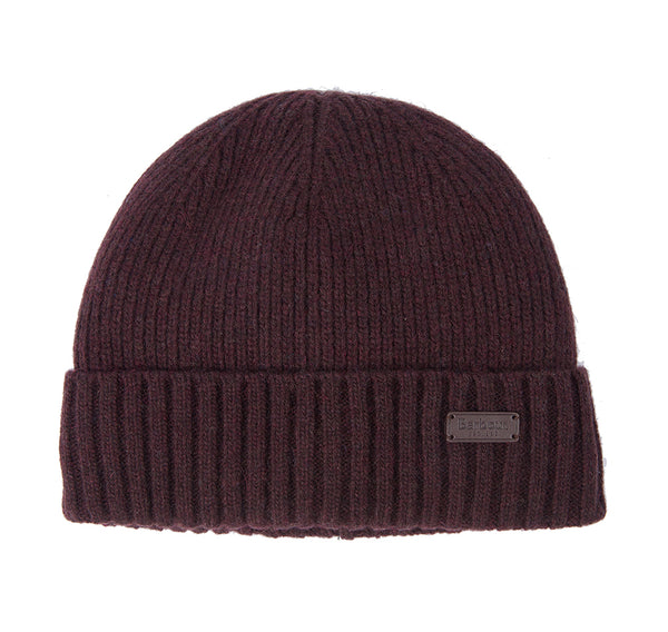 Barbour Carlton Wool Blend Red Beanie
