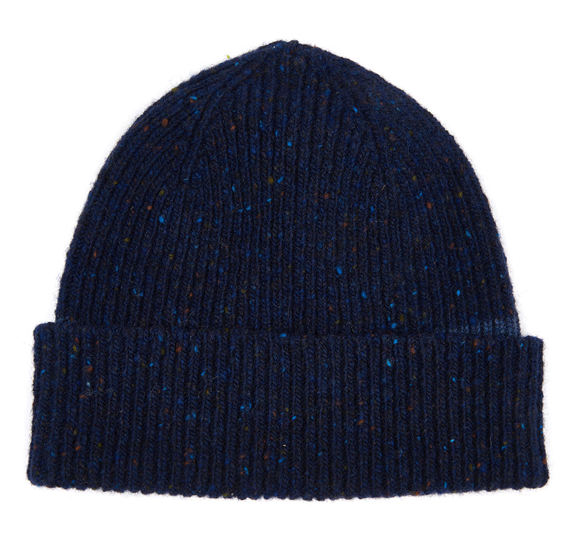 LOWERFELL DONEGAL WOOL NAVY BEANIE