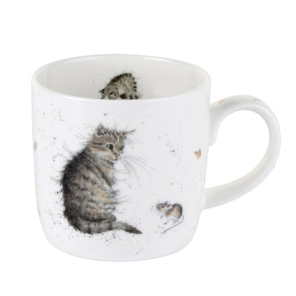 CAT AND MOUSE MUG