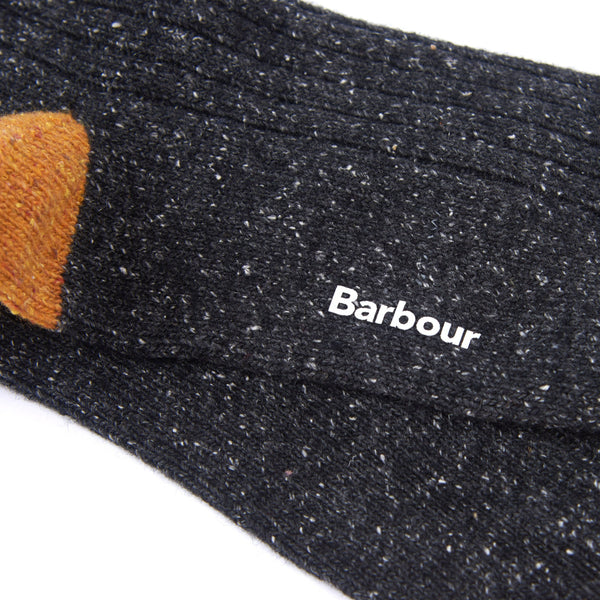 Barbour Houghton Grey Socks