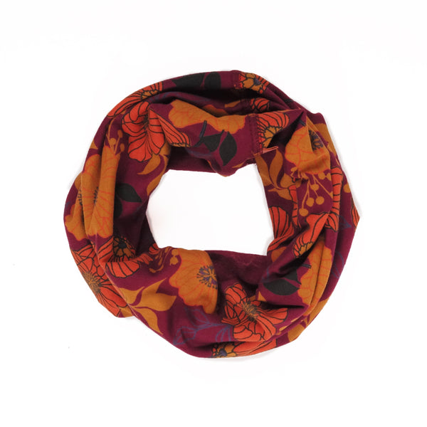 Powder Autumn Floral Multiway Scarf