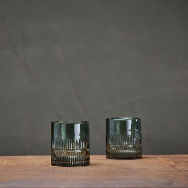 MILA DARK EMERALD TUMBLER SET OF 4