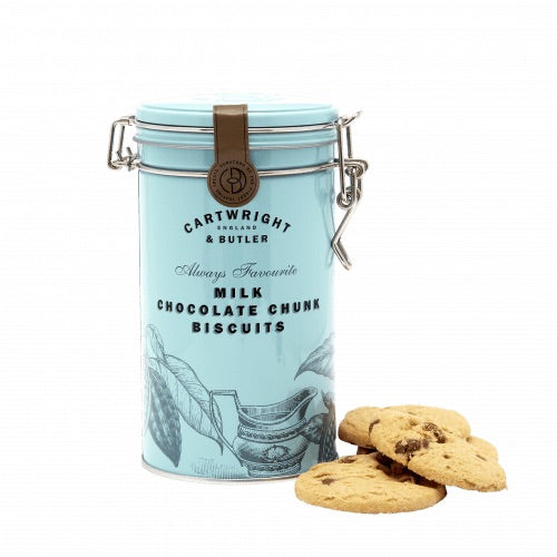 MILK CHOCOLATE CHUNK BISCUITS 200G