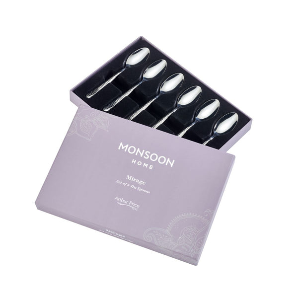 MONSOON MIRAGE 6 TEASPOONS