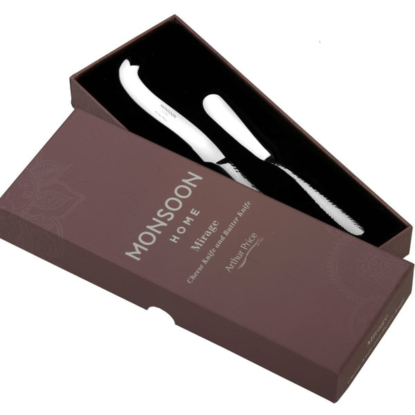 MONSOON MIRAGE CHEESE & BUTTER KNIFE
