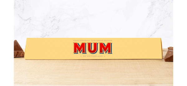 MUM PERSONALISED TOBLERONE BAR 100G