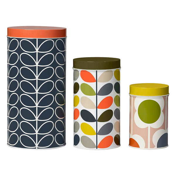 STORAGE TINS, SET OF 3
