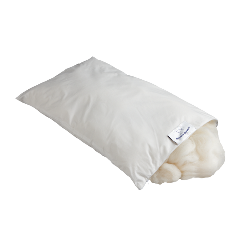 Devon Duvet 100% British Wool Pillow