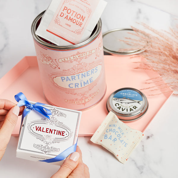PARTNERS IN CRIME GIFT TIN