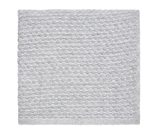 REAL KNIT THROW