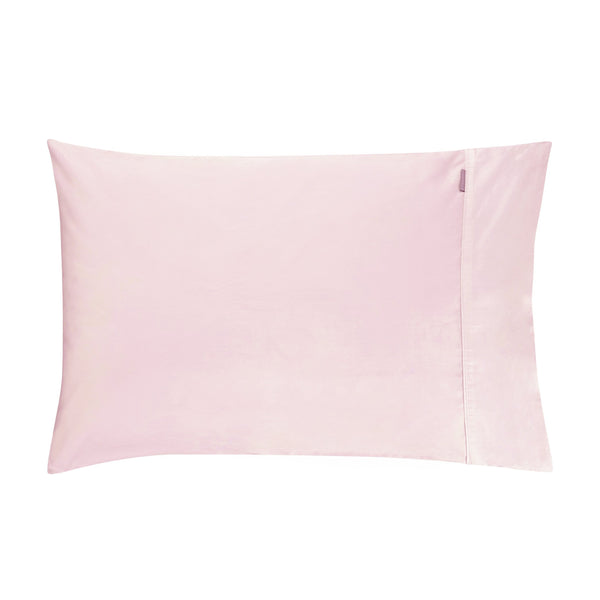 500 THREAD COUNT COTTON SATEEN STANDARD PILLOWCASE PAIR