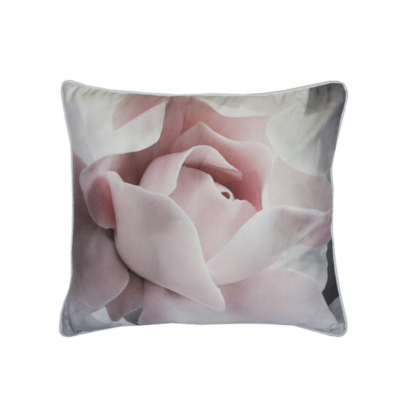 PORCELAIN ROSE CUSHION