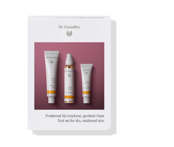 Dr Hauschka Trial Set For Dry Reddened Skin