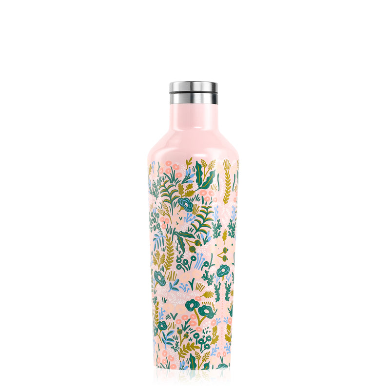 Corkcicle Pink Tapestry Canteen Water Bottle 475ml
