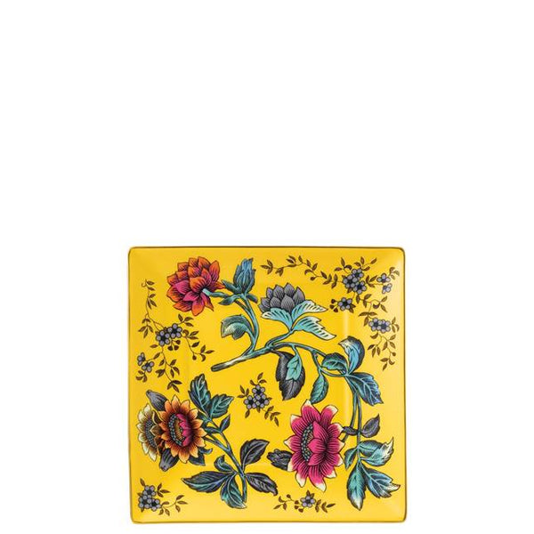 WONDERLUST YELLOW TONQUIN TRAY, 14.5CM