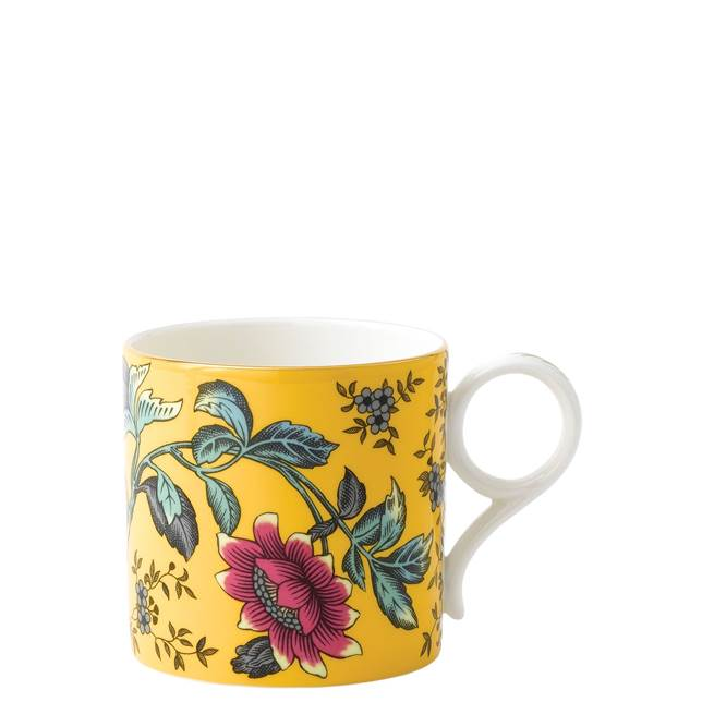 Wedgewood Wonderlust Large Yellow Tonquin Mug