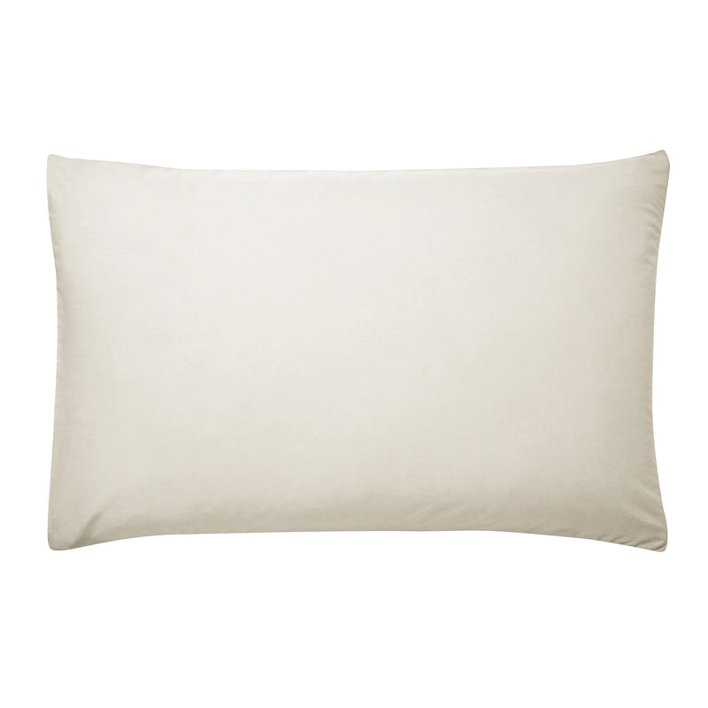 PLAIN DYE PAIR OF HOUSEWIFE PILLOWCASES