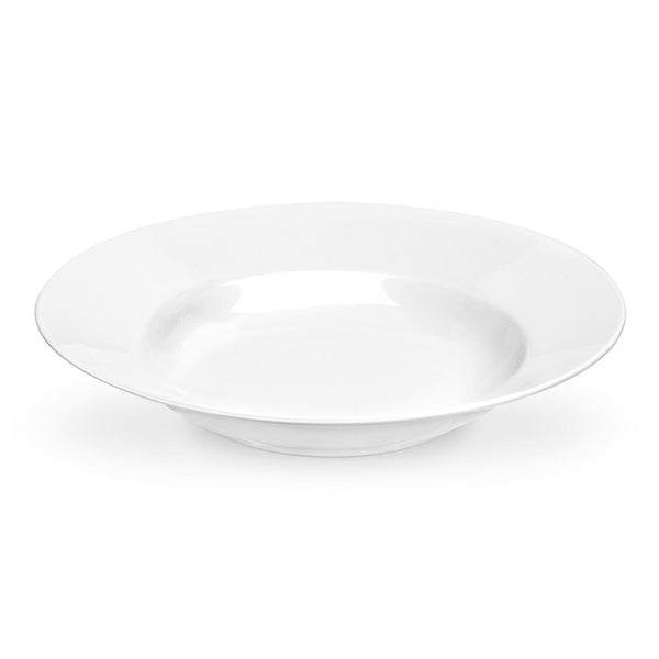 SERENDIPITY WHITE SOUP PLATE