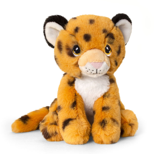 Keel Eco Cheetah Soft Toy 18cm