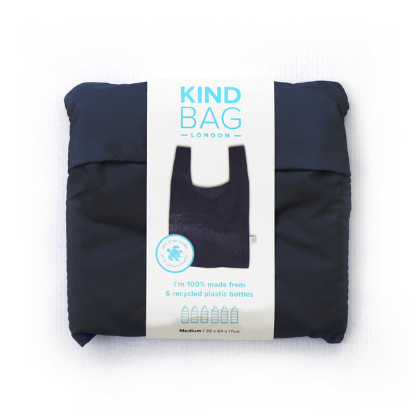 Kind Bag Black Reusable Medium Bag