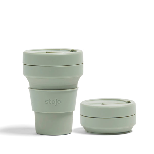 COLLAPSIBLE SAGE POCKET CUP 355ML
