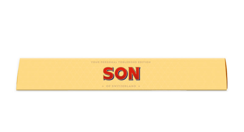 Toblerone Son Personalised Toblerone Bar 100G
