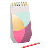 SPIRAL BOUND JOTTER WITH PENCIL