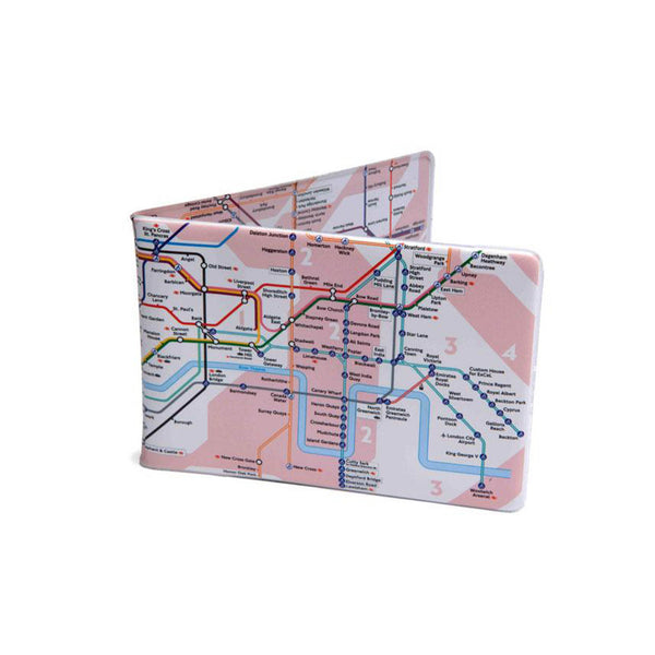 Crafted Lines Tube Map Travel Wallet