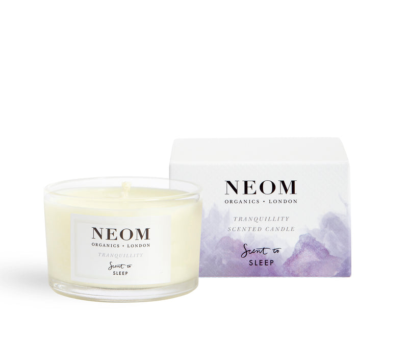 TRANQUILLITY SCENTED TRAVEL CANDLE