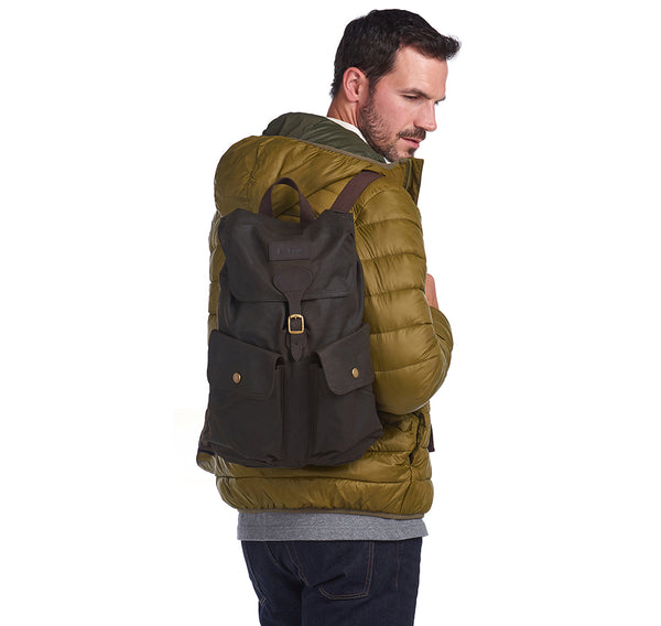 BEAUFORT WAXED BACKPACK