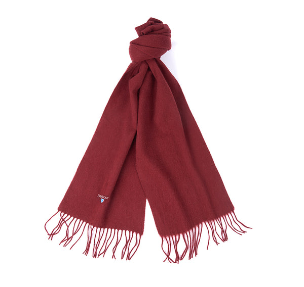 PLAIN LAMBS WOOL CINNAMON SCARF