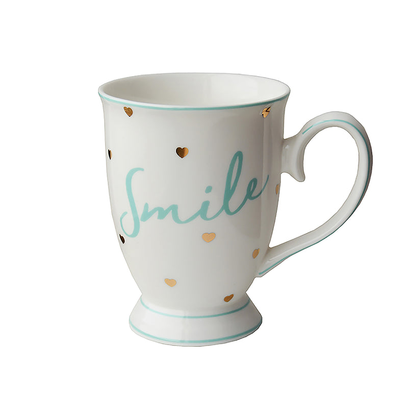Bombay Duck Smile Mug With Hearts