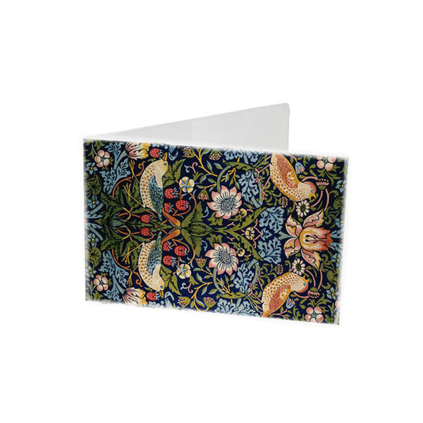 V&A STRAWBERRY THIEF TRAVEL WALLET