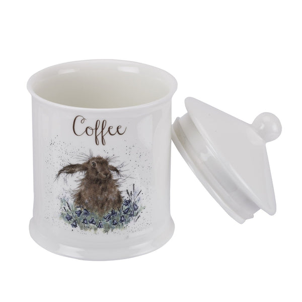 Wrendale Coffee Canister Hare