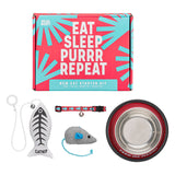 Wild & Woofy Eat Sleep Purr Repeat Cat Starter Kit