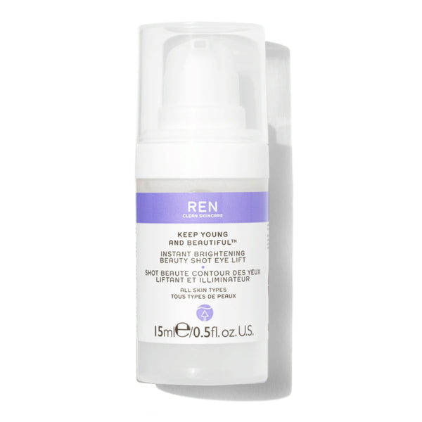 Ren Keep Young & Beautiful Instant Brightening Beauty Shot Eye 15ml