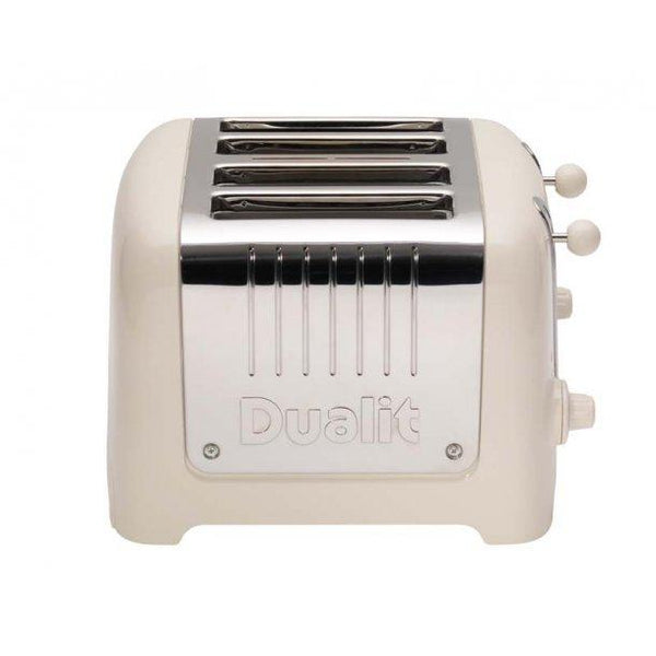 DUALIT 4 SLICE TOASTER CANVAS WHITE