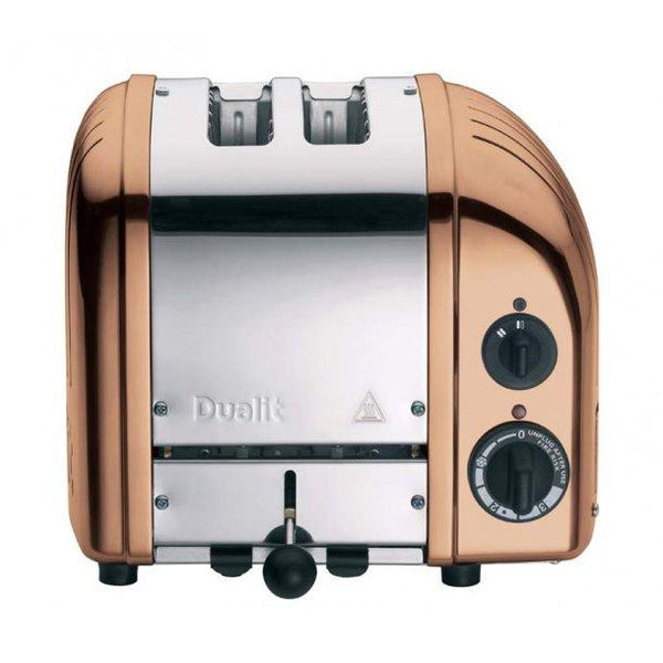 DUALIT CLASSIC COPPER SPRAY 2 SLICE TOASTER