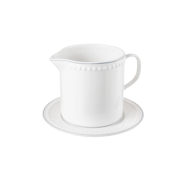 SIGNATURE GRAVY BOAT & SAUCER 500ML