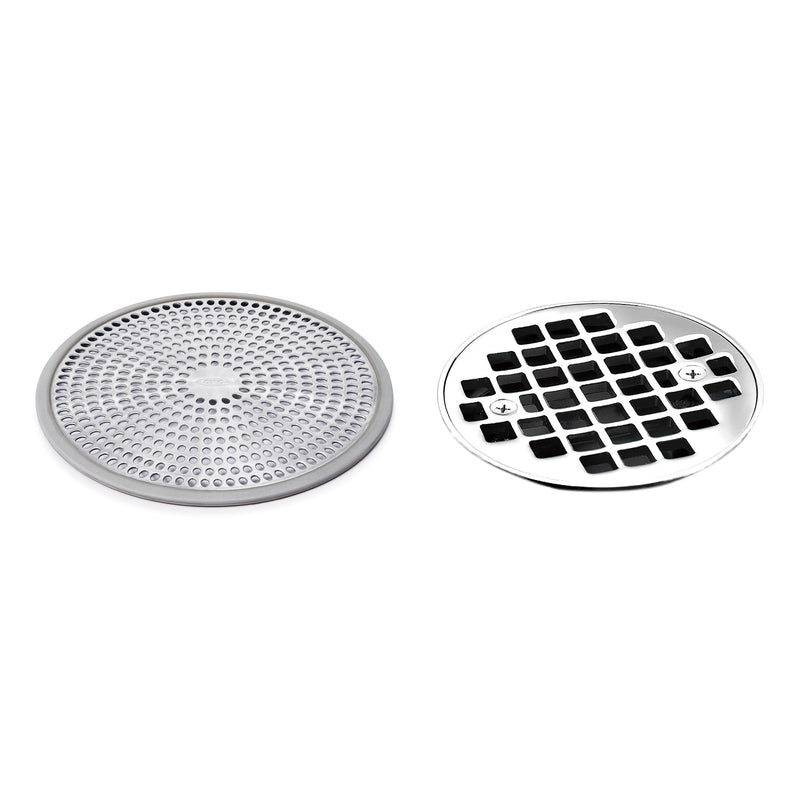STAINLESS STEEL SHOWER DRAIN PROTECTOR