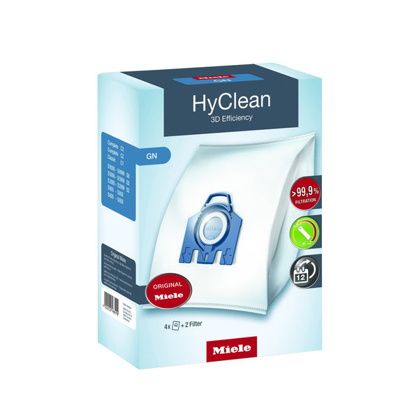 HyClean 3D Efficiency GN dustbags 4-Pack