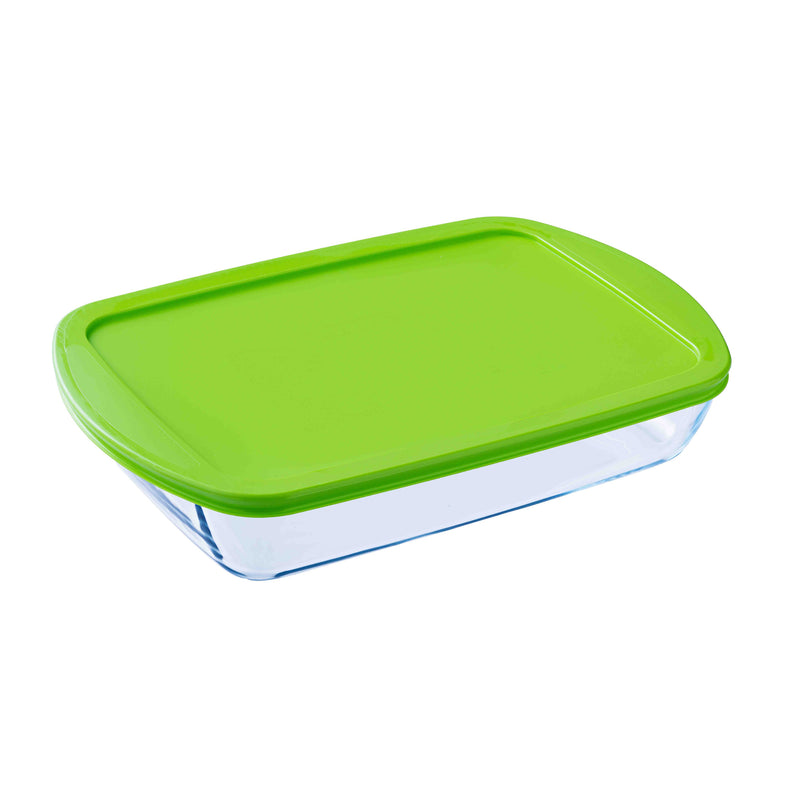 Pyrex Large Rectangle Roasting Dish With Lid