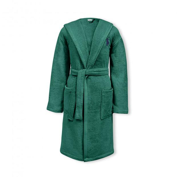Ralph Lauren Player Evergreen Robe