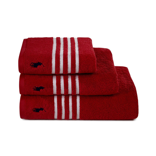 Ralph Lauren Travis Red Rose Towel