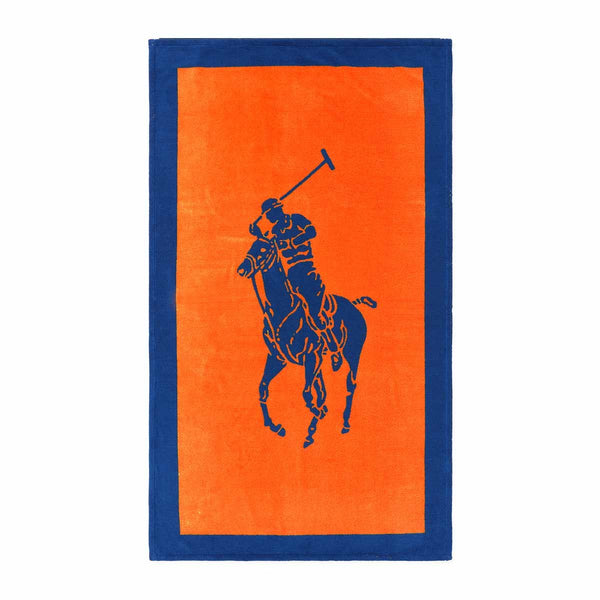 Ralph Lauren Polo Jacquard Beach Towel