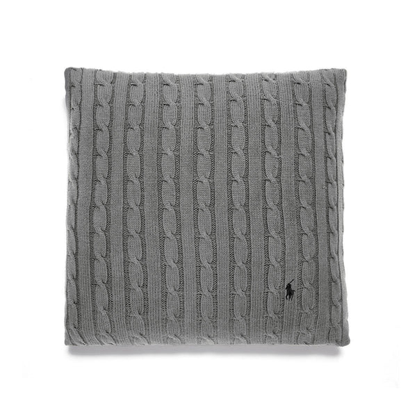 CABLE CHARCOAL CUSHION COVER