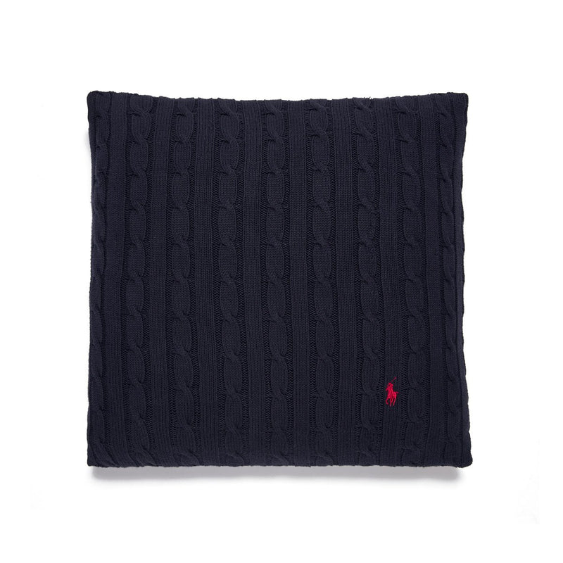 CABLE NAVY CUSHION COVER